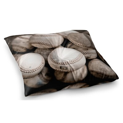 On the Mound Baseball by Debbra Obertanec Floor Pillow Size: 26 x 26