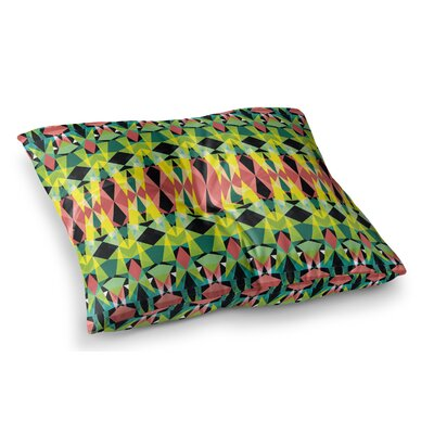 T-Vision by Akwaflorell Floor Pillow Size: 26 x 26