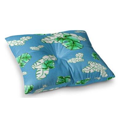 Palmtree by Danii Pollehn Floor Pillow Size: 26 x 26