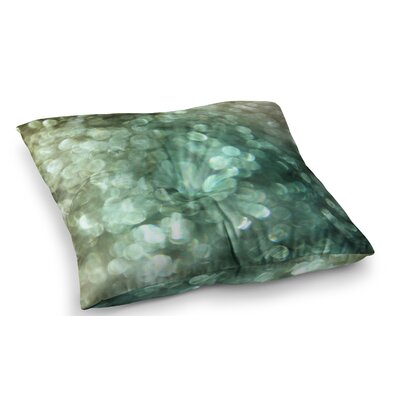 Sparkle Glitter by Debbra Obertanec Floor Pillow Size: 26 x 26