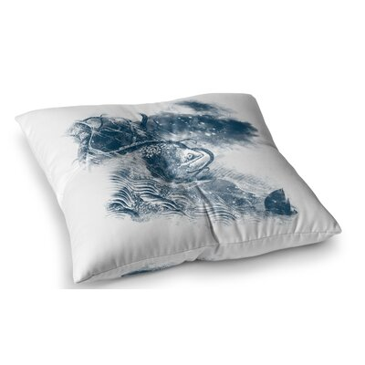 No Escape by Frederic Levy-Hadida Floor Pillow Size: 23 x 23