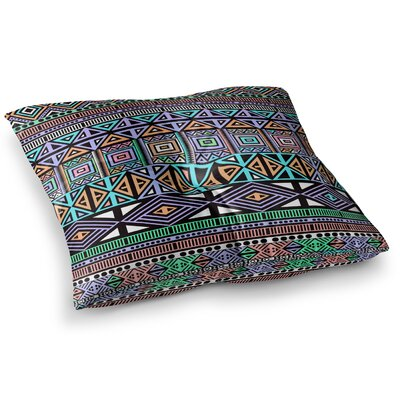 AztecToo Digital by Fimbis Floor Pillow Size: 26 x 26
