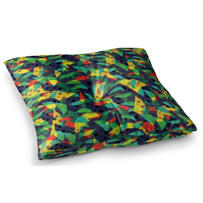 Fruit and Fun by Akwaflorell Floor Pillow Size: 26 x 26