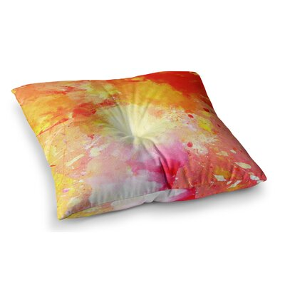 Splash by CarolLynn Tice Floor Pillow Size: 23 x 23