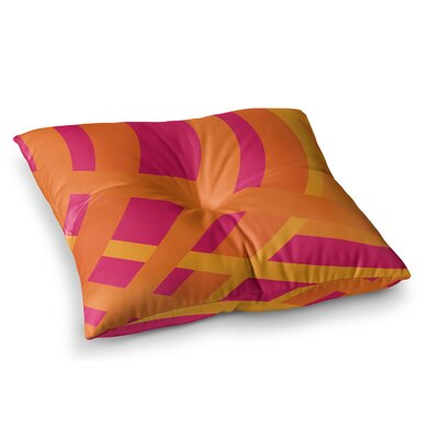 Tangled by Fotios Pavlopoulos Floor Pillow Size: 26 x 26