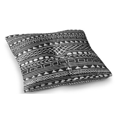Redefined BW by Fimbis Floor Pillow Size: 26 x 26