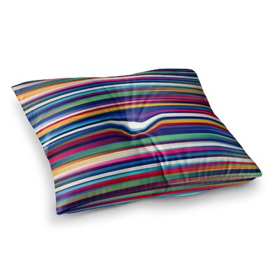 Blurry Lines by Danny Ivan Floor Pillow Size: 26 x 26