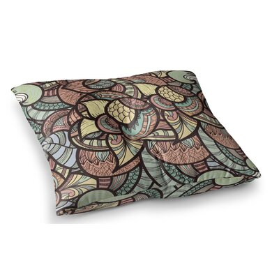 Wild Run by Danny Ivan Floor Pillow Size: 26 x 26