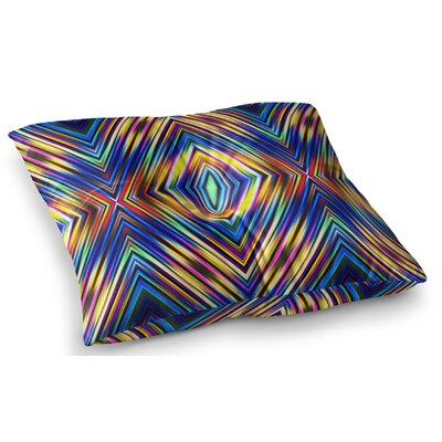 Modern Tribal by Dawid Roc Floor Pillow Size: 23 x 23