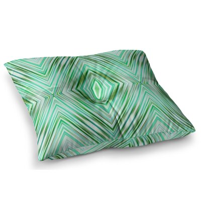 Modern Ethnic Geometric by Dawid Roc Floor Pillow Size: 26 x 26