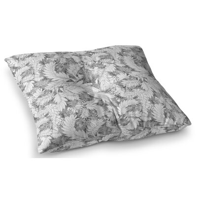 Jungle Paisley by Danii Pollehn Floor Pillow Size: 23 x 23