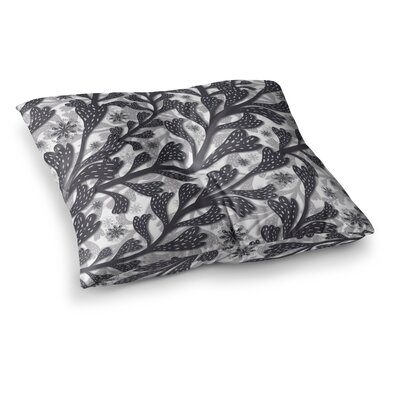 Snow Houses Abstract by Akwaflorell Floor Pillow Size: 23 x 23