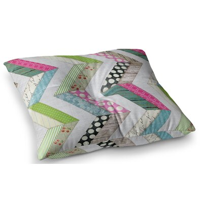 Fabric Much? Cloth by Heidi Jennings Floor Pillow Size: 26 x 26