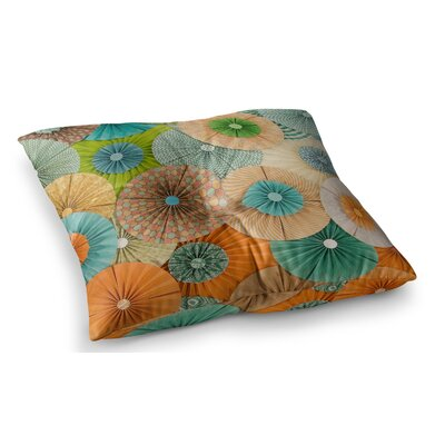 Summer Party by Heidi Jennings Floor Pillow Size: 23 x 23