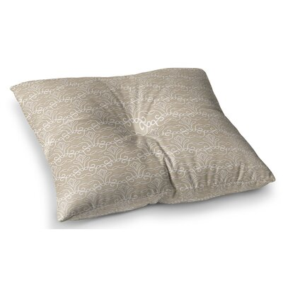 Soft Deco by Julia Grifol Floor Pillow Size: 23 x 23
