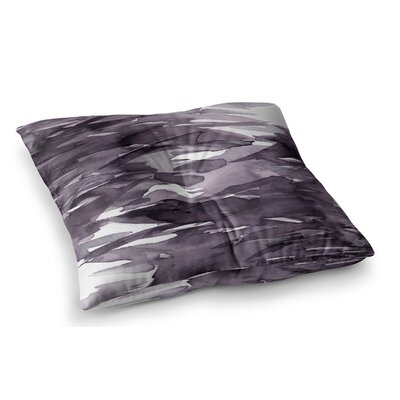 Fervor by Ebi Emporium Floor Pillow Size: 23 x 23, Color: Purple