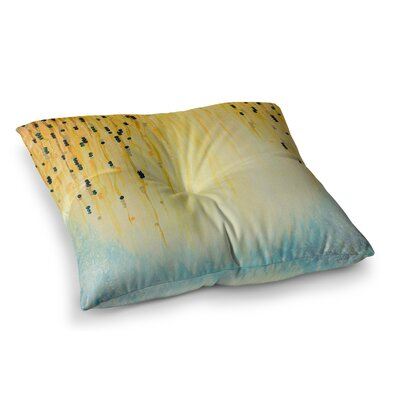 Mystic Garden by Ebi Emporium Floor Pillow Size: 26