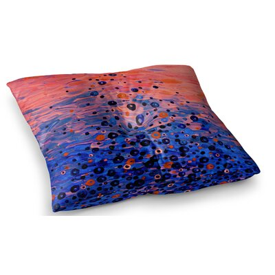 What Goes Up by Ebi Emporium Floor Pillow Size: 23 x 23