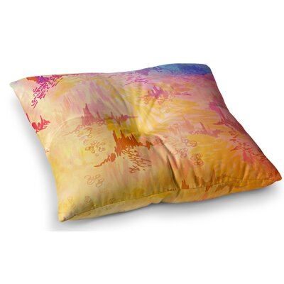 Sky Risers II by Ebi Emporium Floor Pillow Size: 23