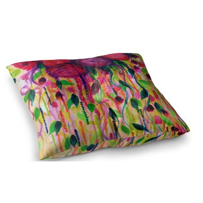 Roses by Ebi Emporium Floor Pillow Size: 26