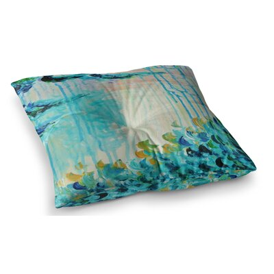 Poseidons Wrath by Ebi Emporium Floor Pillow Size: 23 x 23