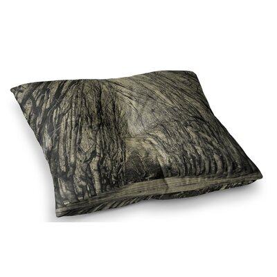 Where Trees Still Whisper by Ingrid Beddoes Floor Pillow Size: 23 x 23