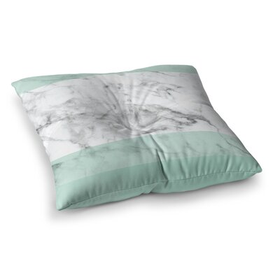 Marble Fade Square Floor Pillow Size: 23 x 23