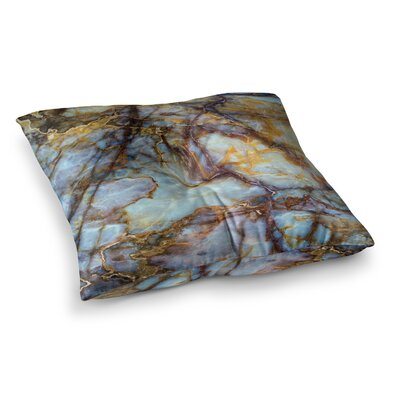 Opalized Marble Square Floor Pillow Size: 23 x 23