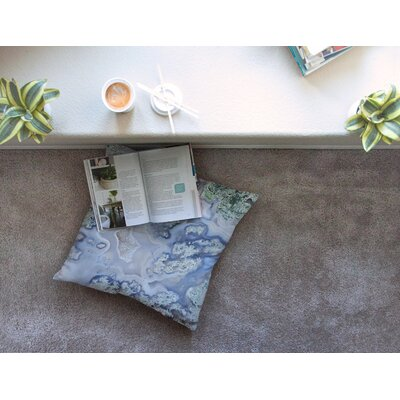 Geode Square Floor Pillow Size: 23 x 23