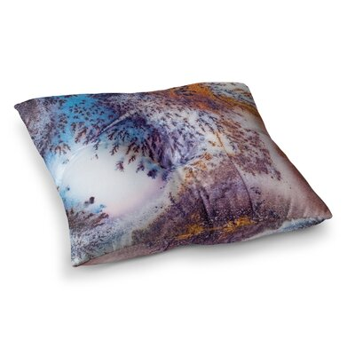 Snow Agate Square Floor Pillow Size: 26 x 26