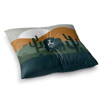 Cyclops Fantasy Creature Square Floor Pillow Size: 23 x 23