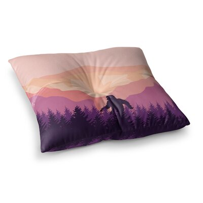 Big Foot Square Floor Pillow Size: 23 x 23