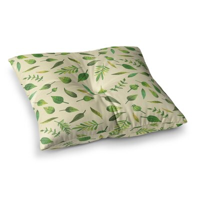 I Be-Leaf in You Square Floor Pillow Size: 23 x 23
