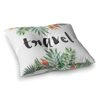 Travel Square Floor Pillow Size: 23 x 23