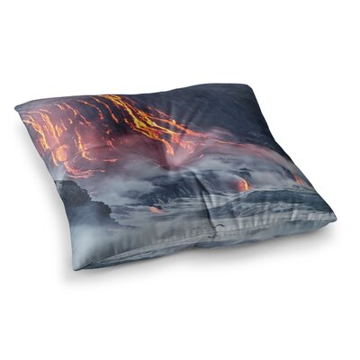 Lava Square Floor Pillow Size: 26 x 26