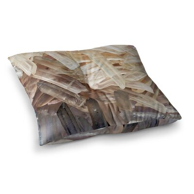 Crystal Square Floor Pillow Size: 26 x 26