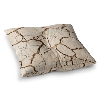 Drought Square Floor Pillow Size: 26 x 26