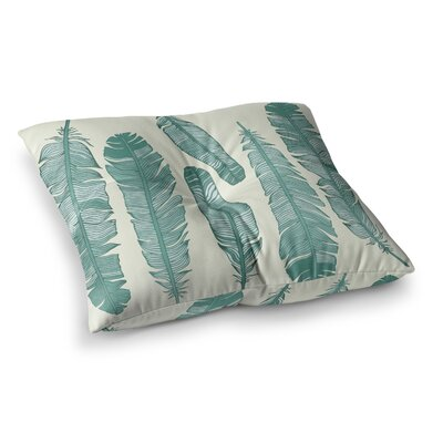 Balsam Feathers Square Floor Pillow Size: 26 x 26