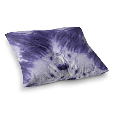 Dye Pattern Square Floor Pillow Size: 26 x 26, Color: Purple