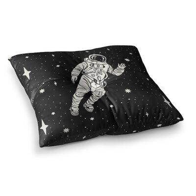 Space Adventurer Fantasy Square Floor Pillow Size: 23 x 23