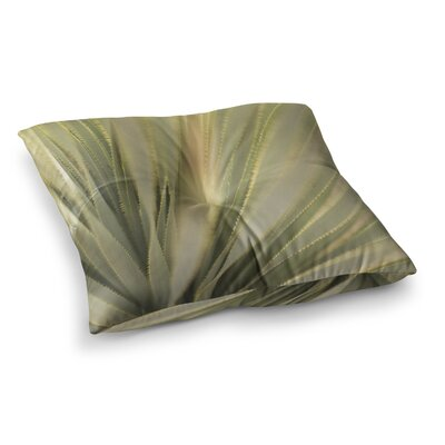 Kristi Jackson Cactus Square Floor Pillow Size: 26 x 26
