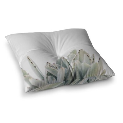 Kristi Jackson Succulent 3 Photography Square Floor Pillow Size: 23 x 23