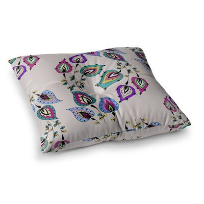 Louise Leave Square Floor Pillow Size: 23 x 23