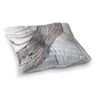 Louise Breeze Square Floor Pillow Size: 26 x 26
