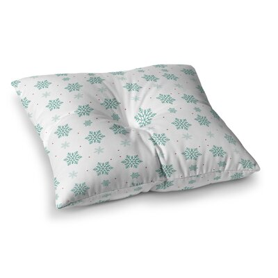 Louise Snow Square Floor Pillow Size: 26 x 26