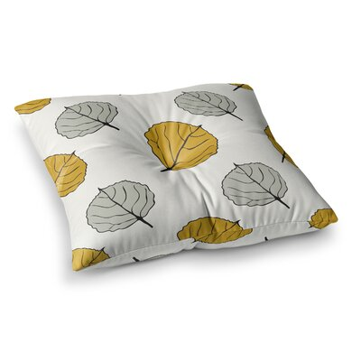 Laurie Baars Quaking Leaf Square Floor Pillow Size: 23 x 23
