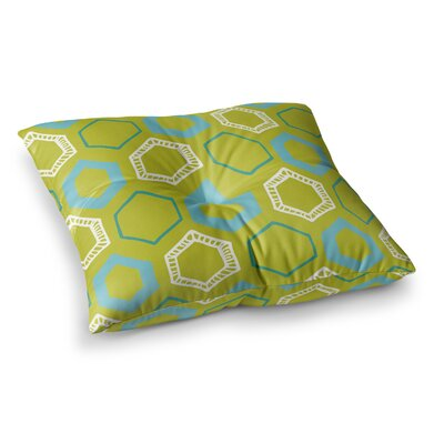 Laurie Baars Hexy Square Floor Pillow Size: 26 x 26