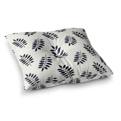 Laurie Baars Pagoda Leaf Small Square Floor Pillow Size: 26 x 26