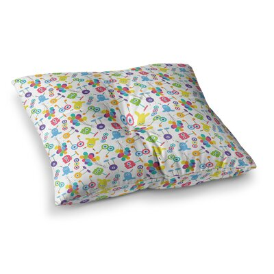 Laura Escalante Fun Creatures Square Floor Pillow Size: 23 x 23