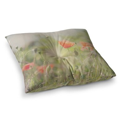 Laura Evans Fields of Remembrance Square Floor Pillow Size: 26 x 26